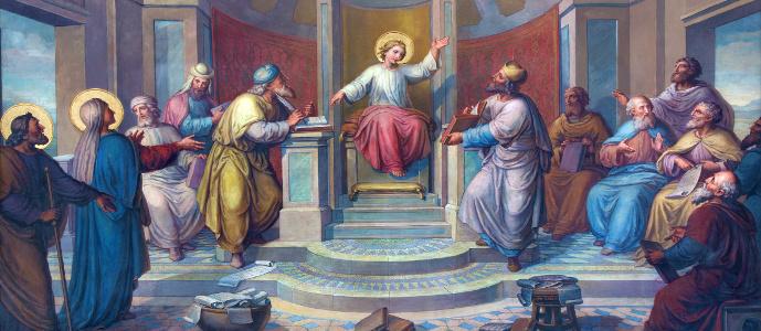 Jesucristo Entre Los Doctores de La Ley