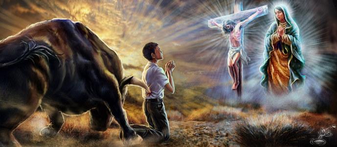Oración y Lealtad: Mensaje Celestial
