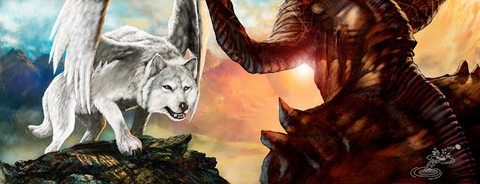 Wolf Preys on the Devil