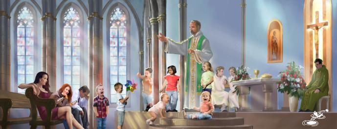 The Children May Scream Says the Deacon - Jese Retono