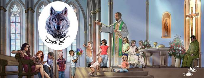<br /> The Children May Scream Says the Deacon Wolf - Jesé Retoño